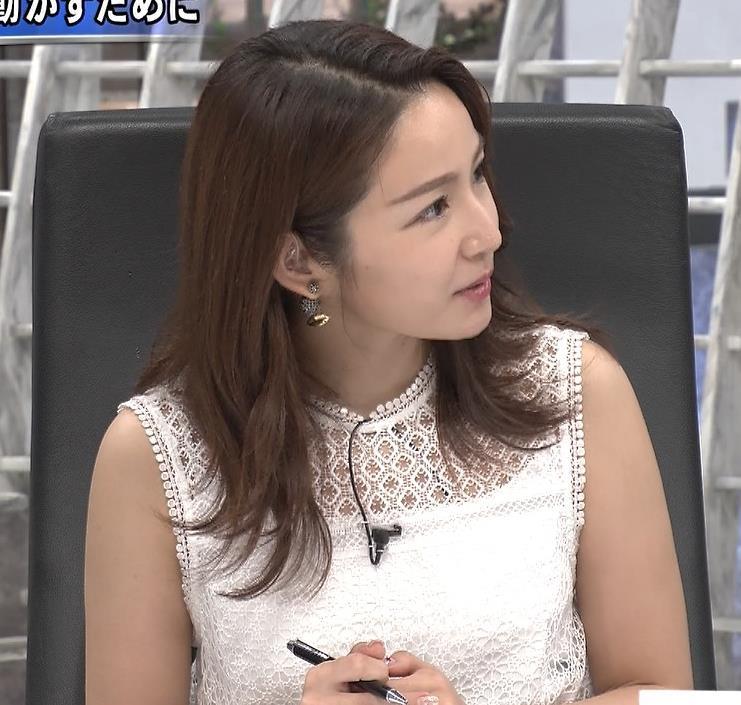 長野美郷 ノースリーブキャプ・エロ画像3