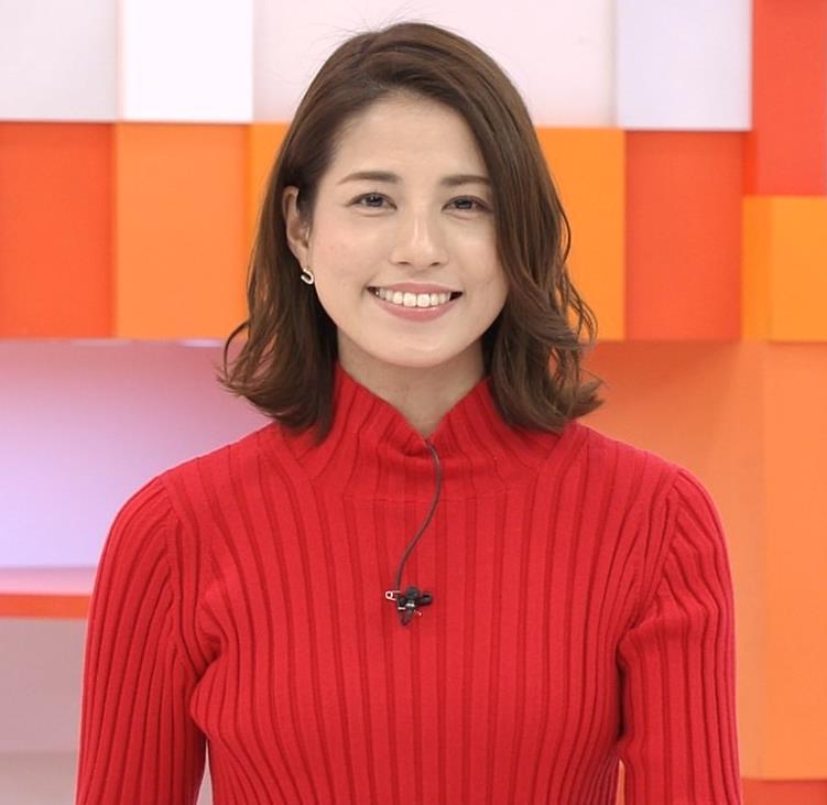 永島優美アナ ニット横乳キャプ・エロ画像5