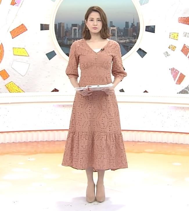 永島優美アナ セクシーなワンピースキャプ・エロ画像