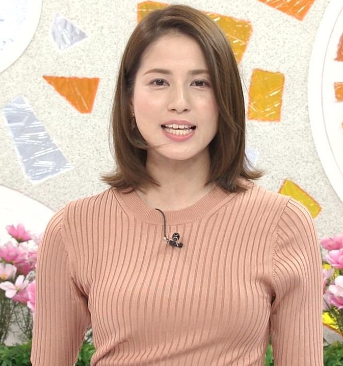 永島優美アナ 朝からエロいニットおっぱいキャプ・エロ画像9
