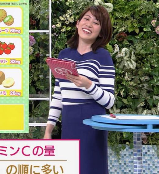 中川安奈アナ タイトなスカートのお尻キャプ・エロ画像5