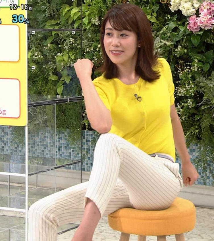 中川安奈アナ タイトパンツでエロいエクササイズキャプ・エロ画像11