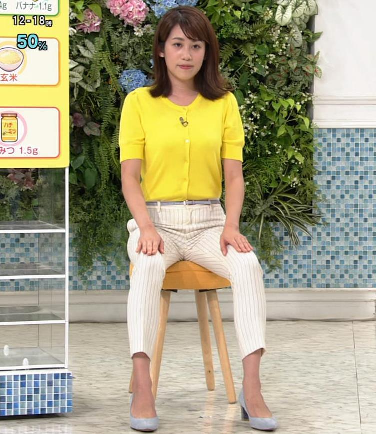 中川安奈アナ タイトパンツでエロいエクササイズキャプ・エロ画像4