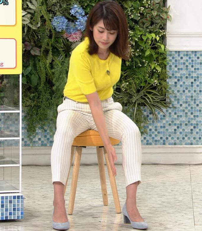 中川安奈アナ タイトパンツでエロいエクササイズキャプ・エロ画像6