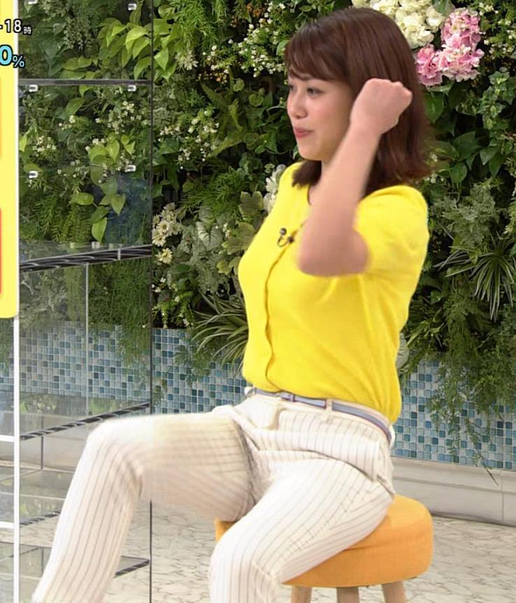 中川安奈アナ タイトパンツでエロいエクササイズキャプ・エロ画像10