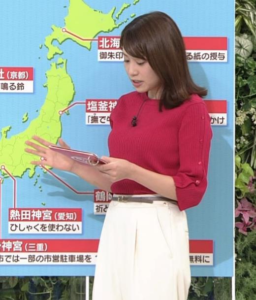 アナ ニット巨乳キャプ・エロ画像