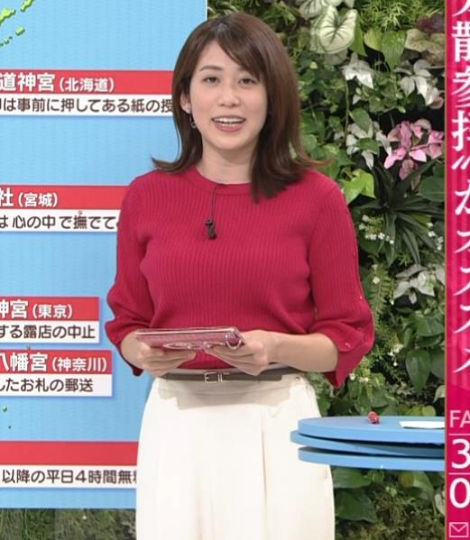 アナ ニット巨乳キャプ・エロ画像3