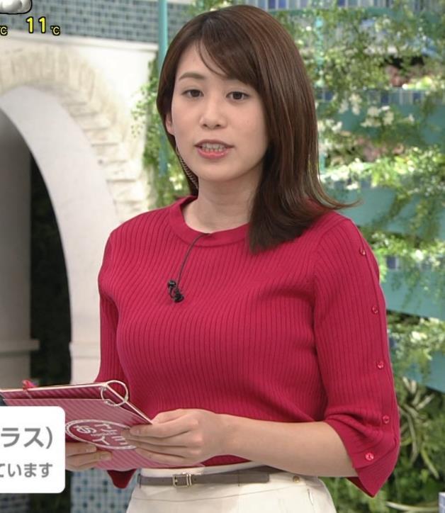 アナ ニット巨乳キャプ・エロ画像5