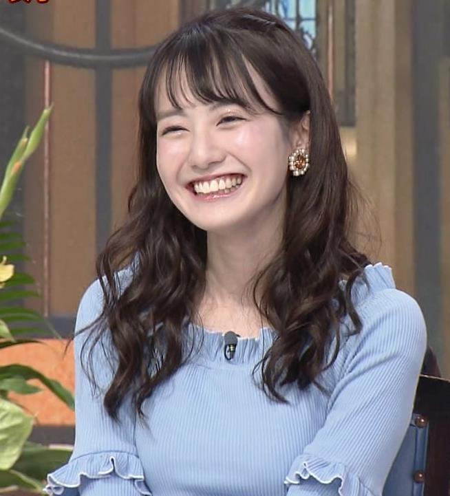 中川梨花 ぶりっ子キャラのニットおっぱい♡キャプ・エロ画像