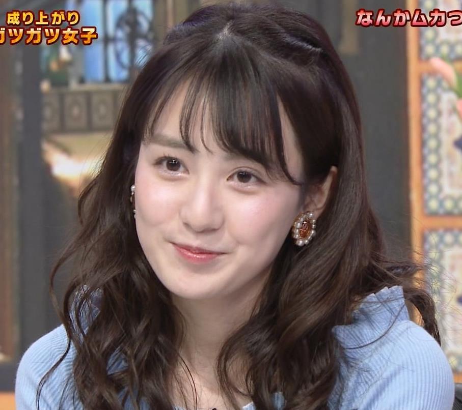 中川梨花 ぶりっ子キャラのニットおっぱい♡キャプ・エロ画像5