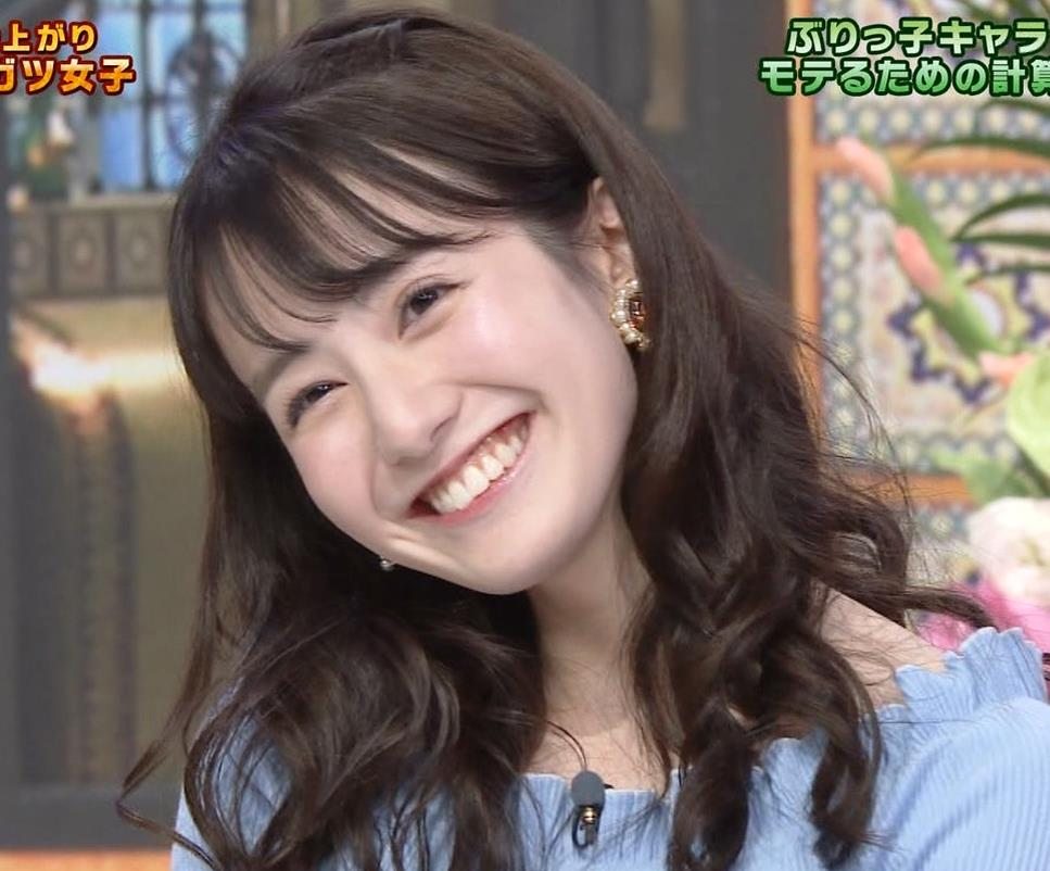 中川梨花 ぶりっ子キャラのニットおっぱい♡キャプ・エロ画像6