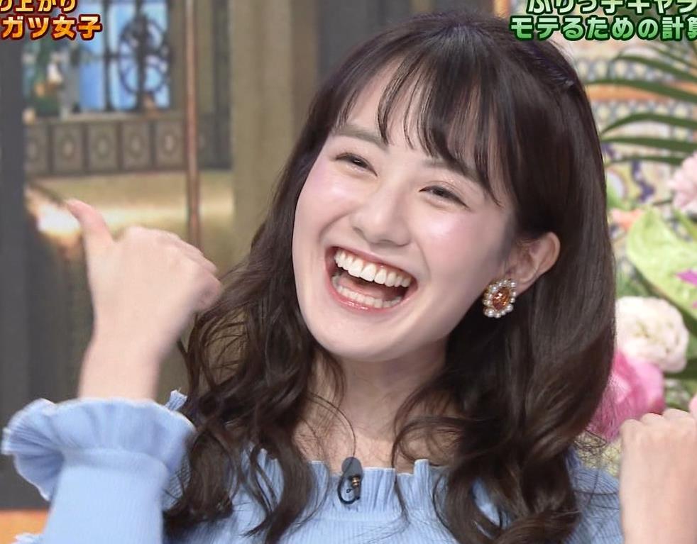 中川梨花 ぶりっ子キャラのニットおっぱい♡キャプ・エロ画像7