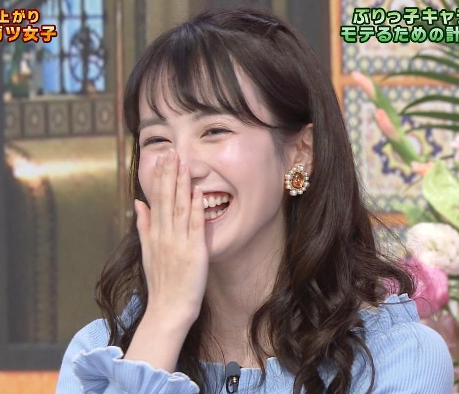 中川梨花 ぶりっ子キャラのニットおっぱい♡キャプ・エロ画像8