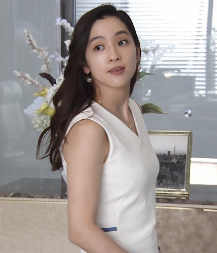 中村アン 白いエロワンピースキャプ・エロ画像8