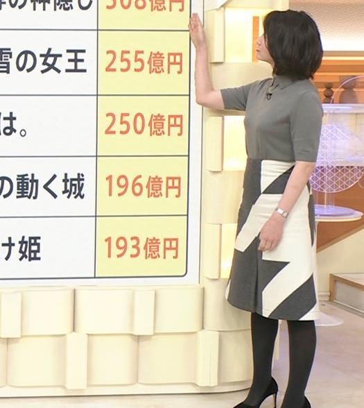 小川彩佳アナ おっぱい強調キャプ・エロ画像3