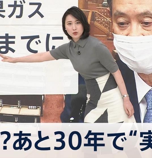 小川彩佳アナ おっぱい強調キャプ・エロ画像5