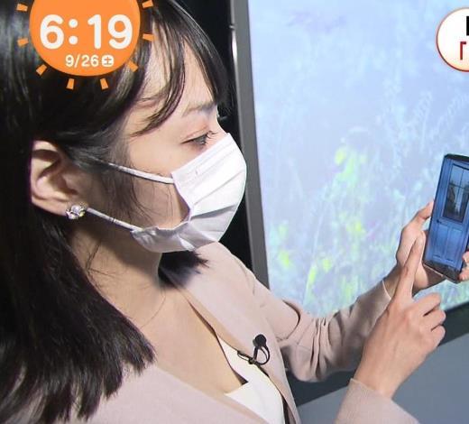 奥山未季子 エロい胸元アップキャプ画像(エロ・アイコラ画像)