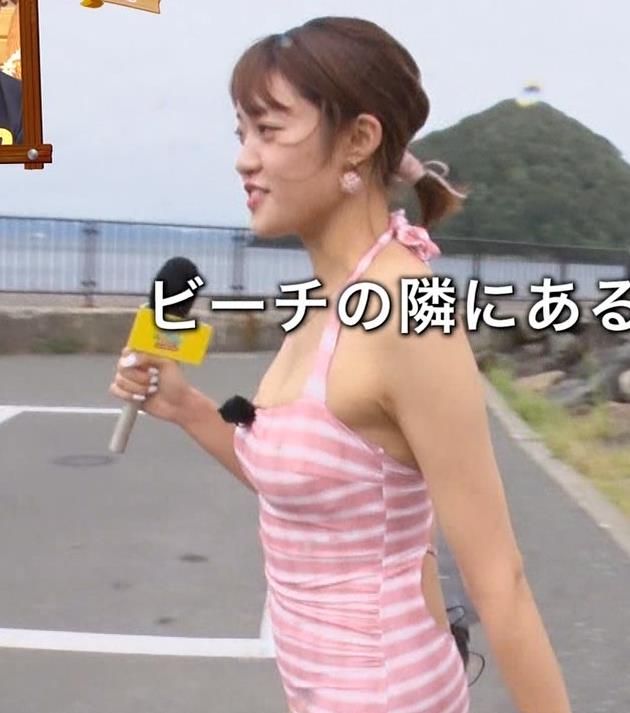 王林 テレビに水着で出て股間をアップで撮られるキャプ・エロ画像16