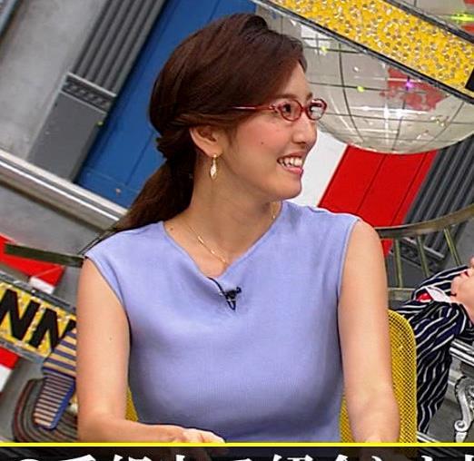 小澤陽子アナ ニットおっぱいキャプ・エロ画像10