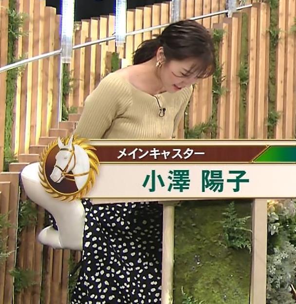 小澤陽子アナ フジテレビのエッチ過ぎる競馬番組キャプ・エロ画像2