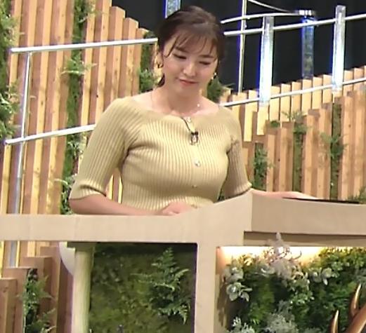 小澤陽子アナ フジテレビのエッチ過ぎる競馬番組キャプ・エロ画像5