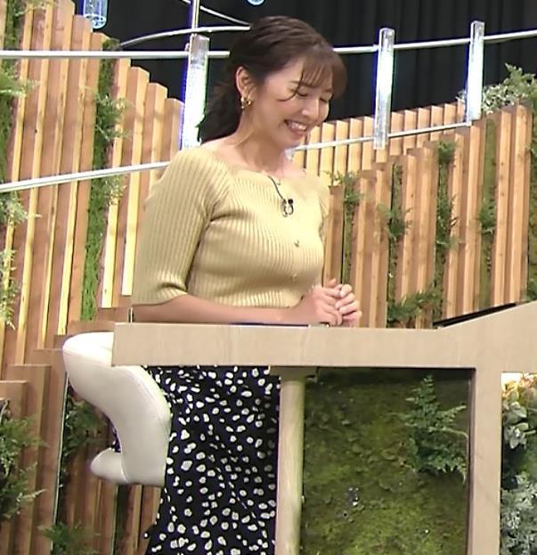小澤陽子アナ フジテレビのエッチ過ぎる競馬番組キャプ・エロ画像6