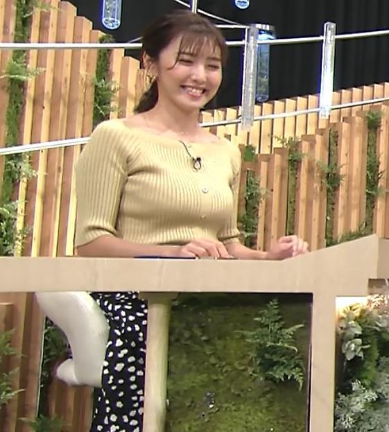 小澤陽子アナ フジテレビのエッチ過ぎる競馬番組キャプ・エロ画像7