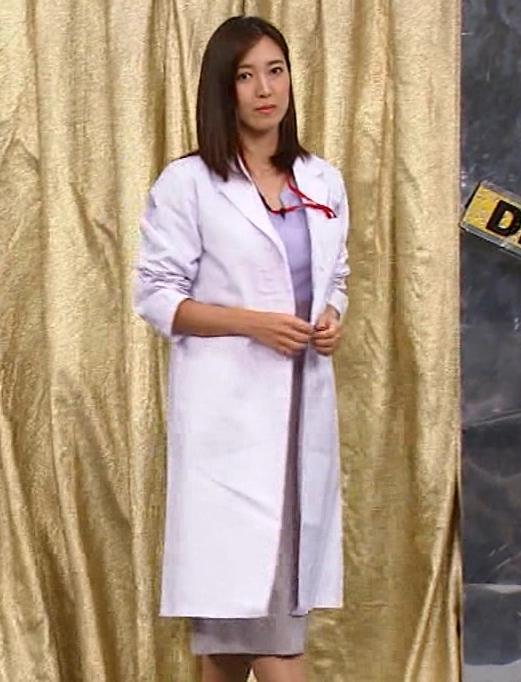 小澤陽子アナ エロ女医コスプレキャプ・エロ画像2