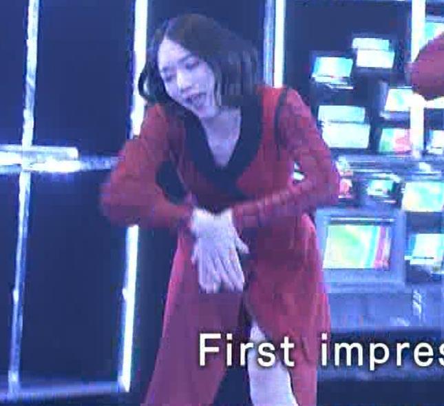Pufumeのっち 紅白でちょっと胸チラキャプ・エロ画像3