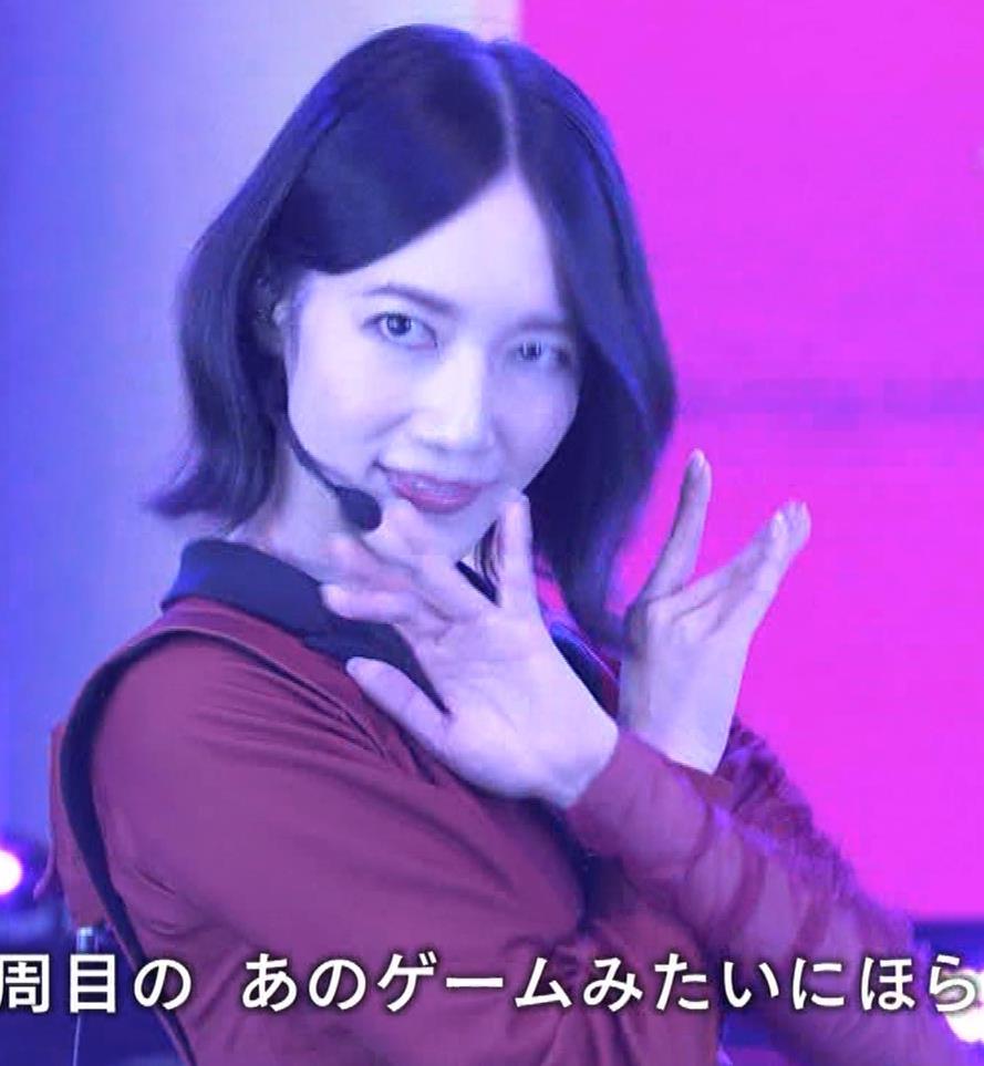 Pufumeのっち 紅白でちょっと胸チラキャプ・エロ画像6