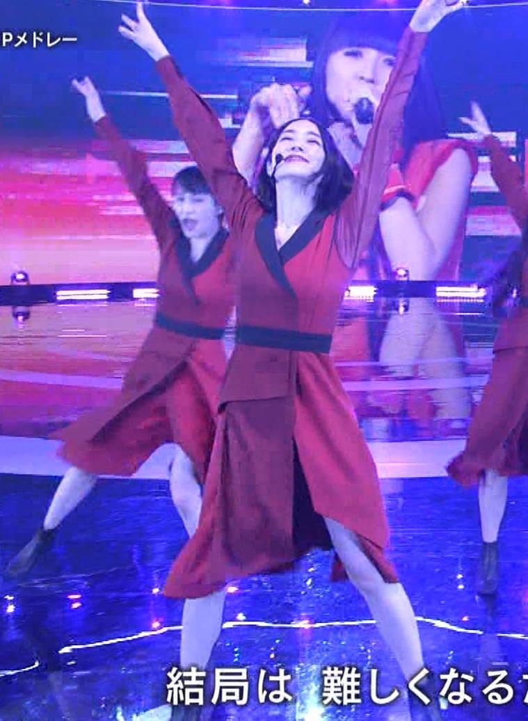 Pufumeのっち 紅白でちょっと胸チラキャプ・エロ画像7
