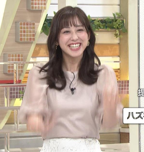 斎藤ちはるアナ 胸を張っておっぱいパツパツキャプ・エロ画像2