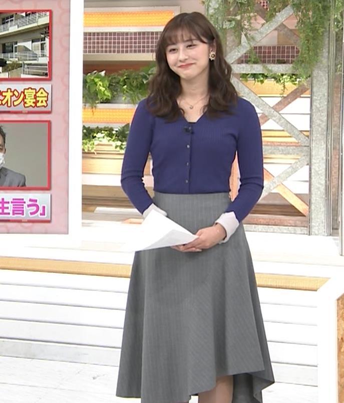斎藤ちはるアナ タイトめなニットキャプ・エロ画像5