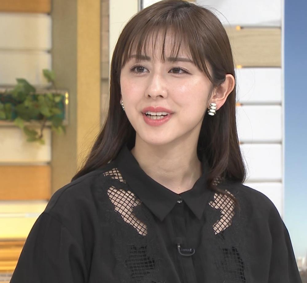斎藤ちはるアナ 一応、ちょい透け衣装キャプ・エロ画像3