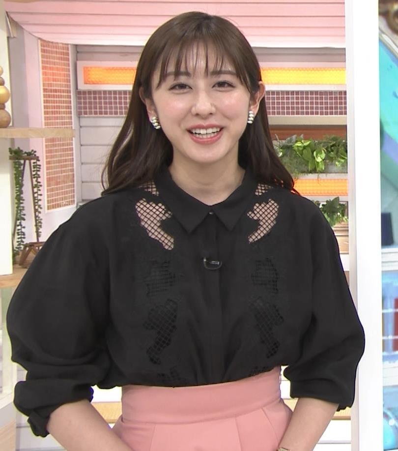 斎藤ちはるアナ 一応、ちょい透け衣装キャプ・エロ画像7