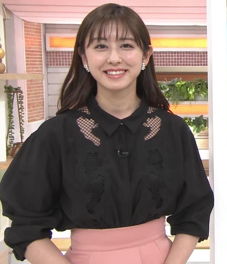 斎藤ちはるアナ 一応、ちょい透け衣装キャプ・エロ画像8