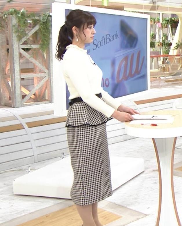 斎藤ちはるアナ 横乳がけっこうデカいキャプ・エロ画像3