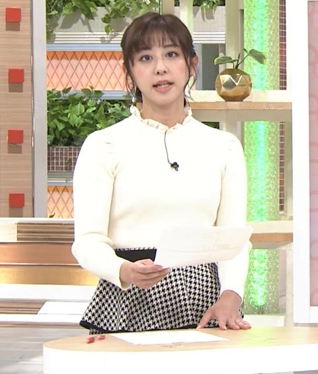 斎藤ちはるアナ 横乳がけっこうデカいキャプ・エロ画像4