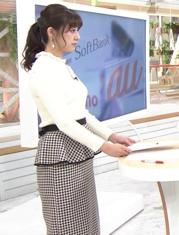 斎藤ちはるアナ 横乳がけっこうデカいキャプ・エロ画像5