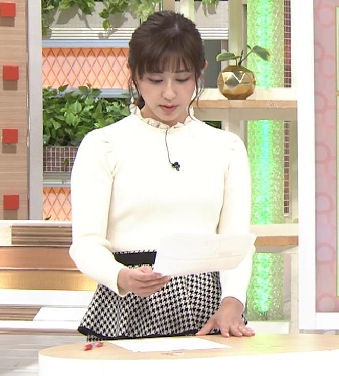 斎藤ちはるアナ 横乳がけっこうデカいキャプ・エロ画像6