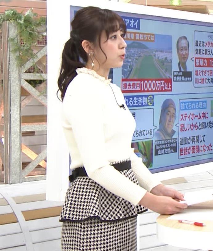 斎藤ちはるアナ 横乳がけっこうデカいキャプ・エロ画像7