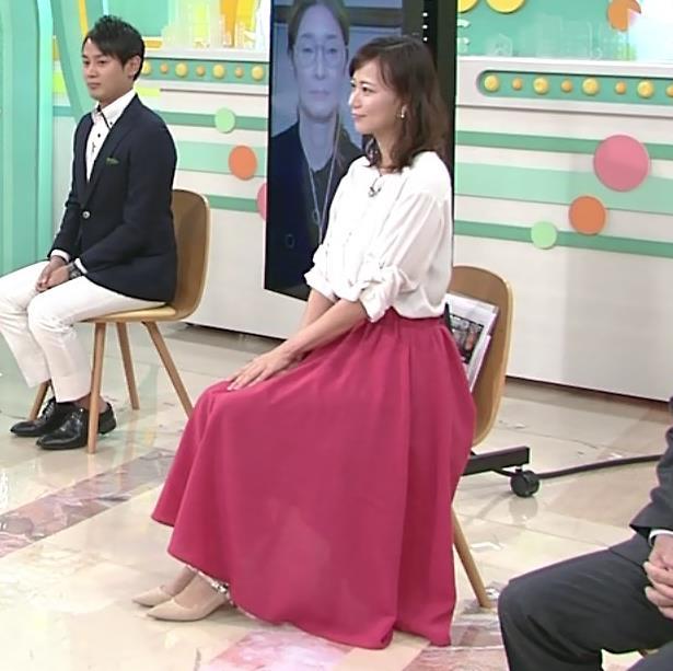 斎藤真美アナ ロングスカートキャプ・エロ画像4