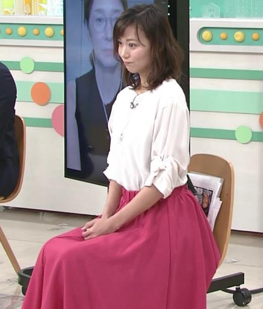斎藤真美 ロングスカートキャプ画像(エロ・アイコラ画像)