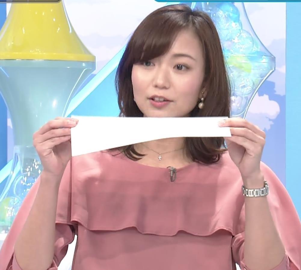 斎藤真美アナ エロ過ぎ太もも!!キャプ・エロ画像3