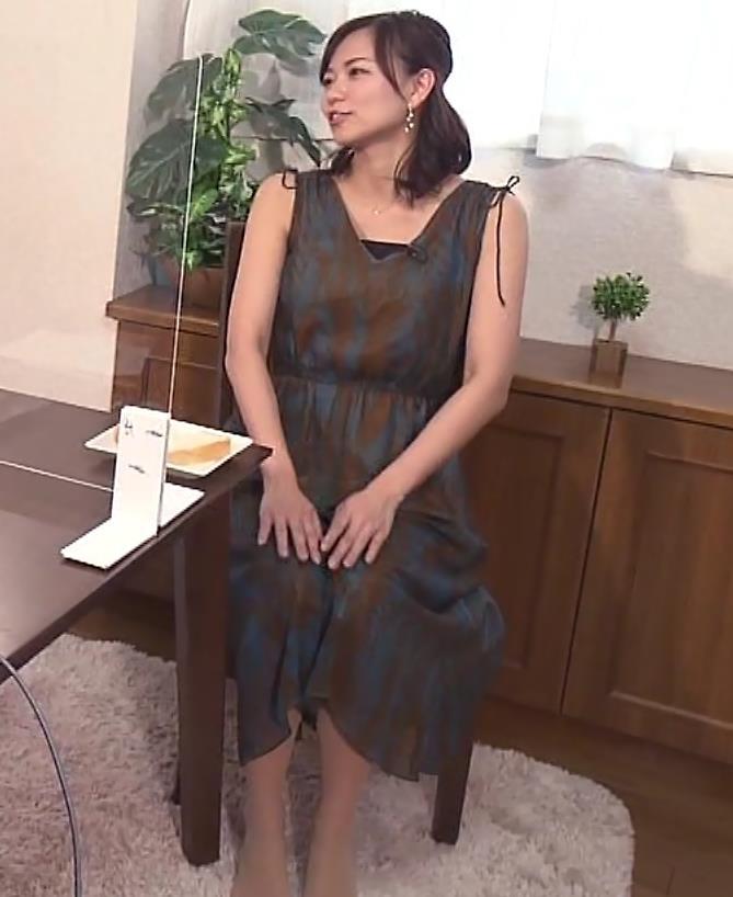 斎藤真美アナ エロ過ぎ太もも!!キャプ・エロ画像8