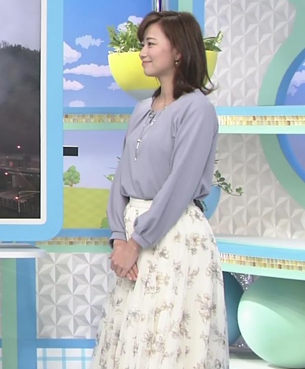 斎藤真美アナ ちょい透けスカートキャプ・エロ画像4
