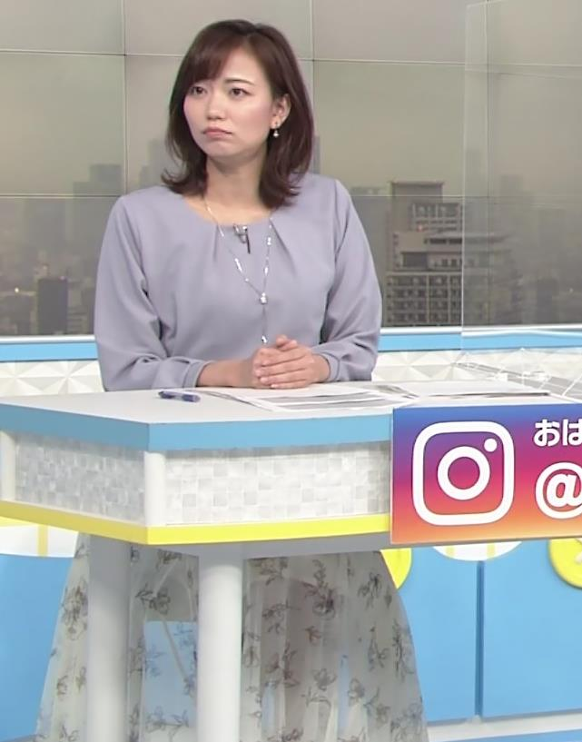 斎藤真美アナ ちょい透けスカートキャプ・エロ画像5