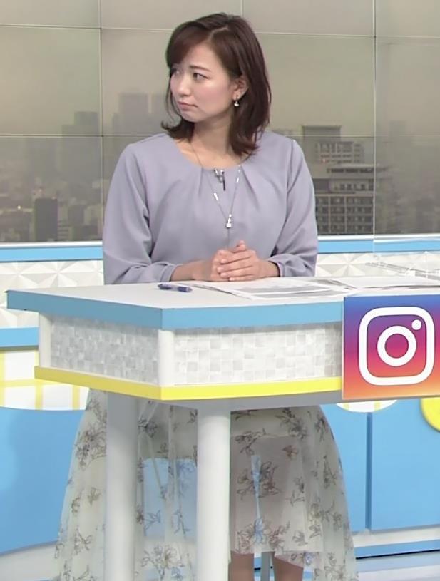 斎藤真美アナ ちょい透けスカートキャプ・エロ画像6