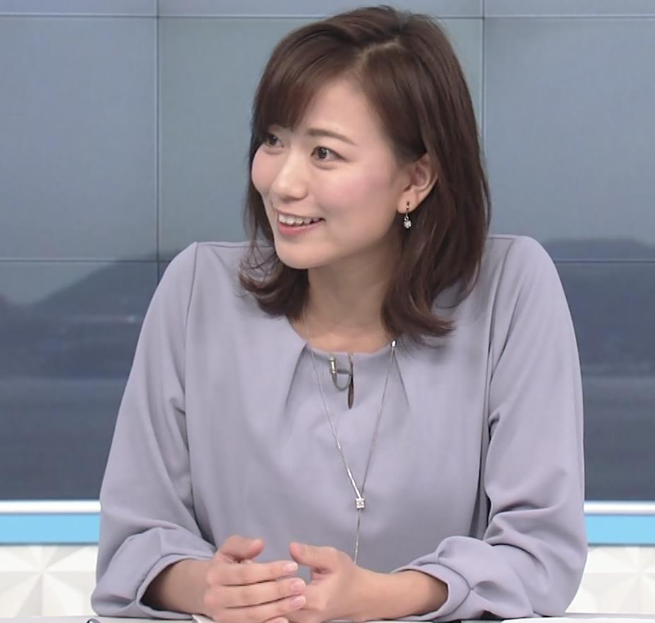 斎藤真美アナ ちょい透けスカートキャプ・エロ画像8