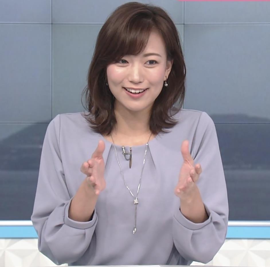 斎藤真美アナ ちょい透けスカートキャプ・エロ画像9